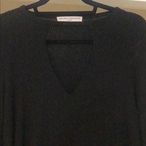 Project social medium peep hole sweater